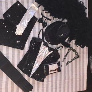Gadsby dancer jazz party rave NYE costume tuxedo S
